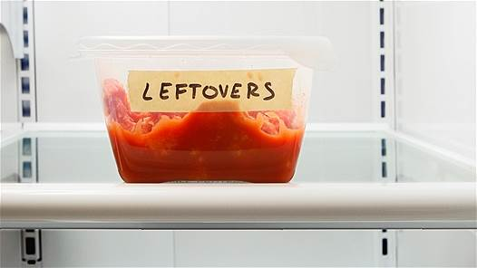 Leftover that is kept in fridge in one week can be safe for health.