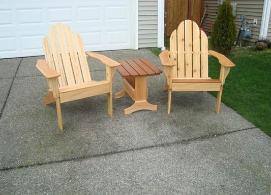 Pick up a couple of wooden chairs and mismatched lamps at your favorite flea market and give them a spray paint makeover.