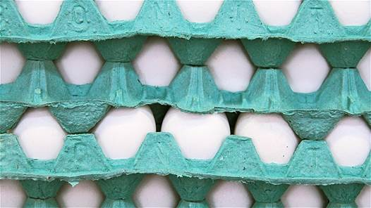 5 weeks are the maximum time for storing egg in fridge.