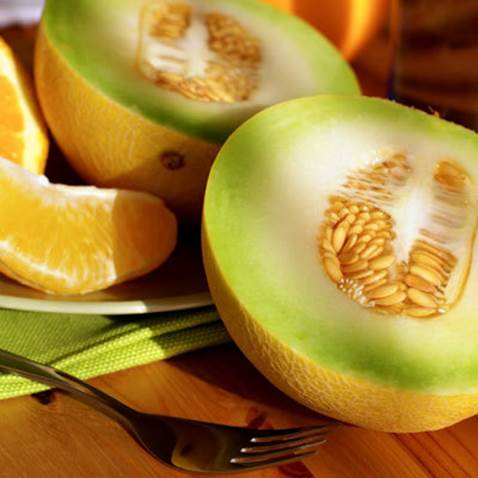 Melon and citrus are rich of vitamin C, so they can intensify immune system for body.
