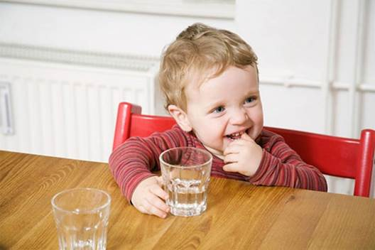 You should encourage children to drink more water.