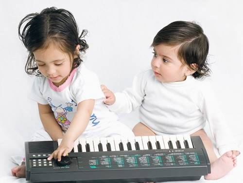 Music has big effect in improving IQ index and increasing children's memory.