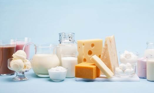 Milk and products from milk are important to babies' development.