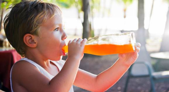 Mothers should limit children to use carbonated drinks.