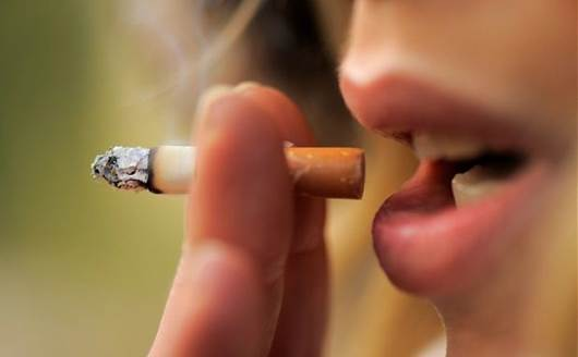 Smoking by women during pregnancy increases the risk for SIDS.