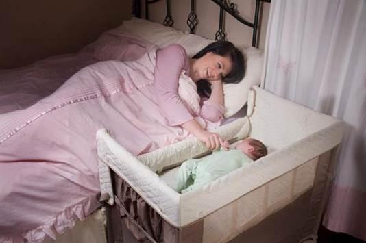 Co-sleeping makes breastfeeding easier