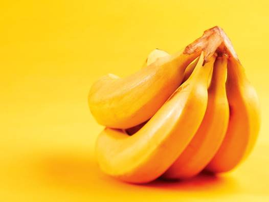 Iron in banana can prevent hair loss.