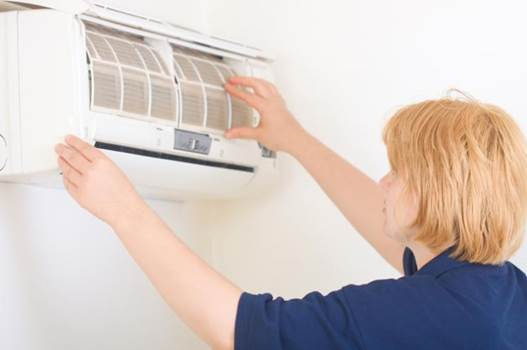 Parents take notice of cleaning the air-conditioner recurrently to avoid molds and pathogens.