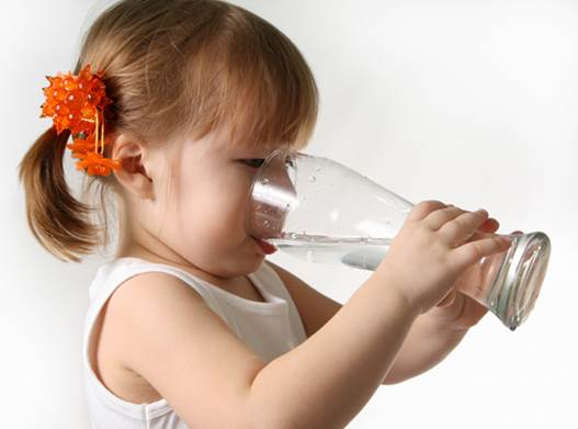 You should make your children drink more water.