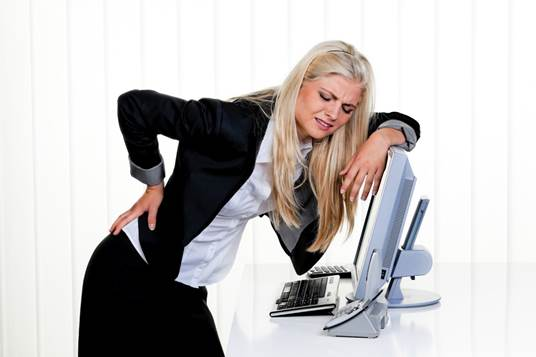 Sitting in the right positions can help you decrease the number of back pains.