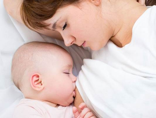 Hormonal changes during pregnancy are preparation enough.