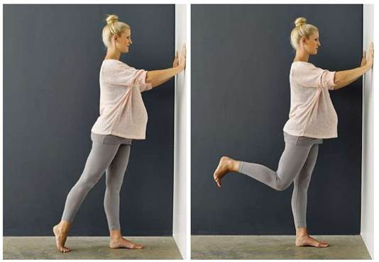 Hip extension and curl