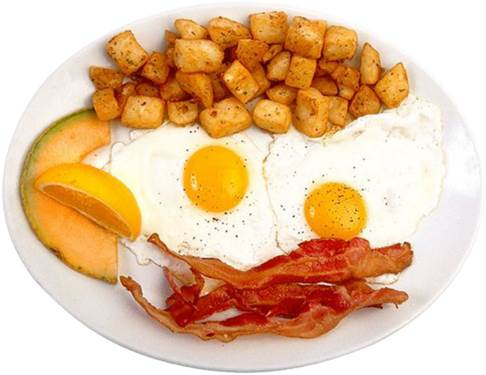 A full breakfast not only brings use an effective working day, but helps us prevent the eating-snack habit.