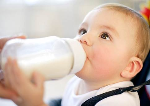 The milk quality for children is various.