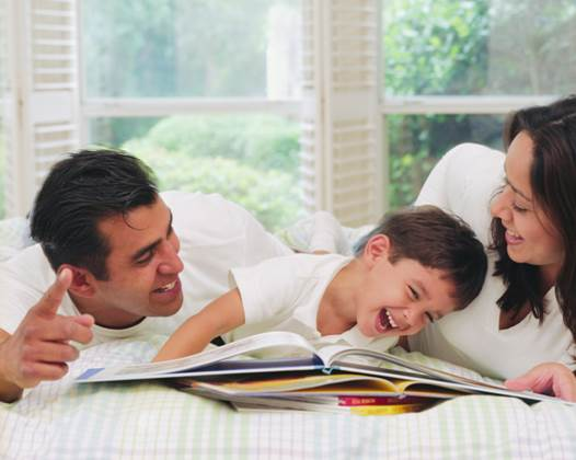 Parents always complain about the noise of their children but, that friskiness of the children will different flavors of life and the feeling of having a family.