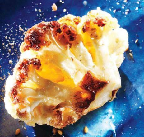 Roasted cauliflower with za'atar