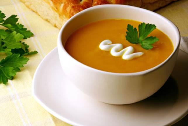 Curried Kumara Soup
