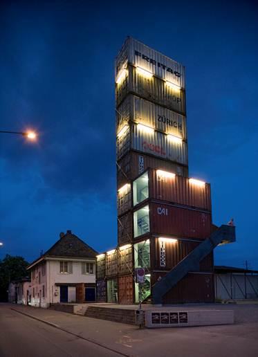 Description: Freitag Tower