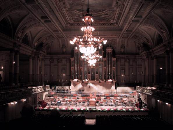 Description:  the Tonhalle Orchestra Zurich