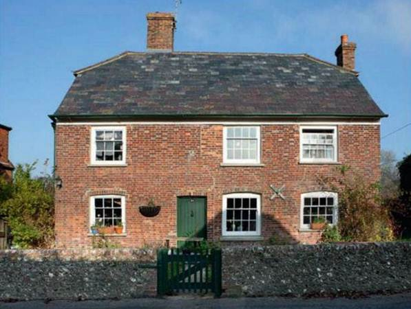 Description: Front of house - The three-bedroom cottage dates back to the 17th century
