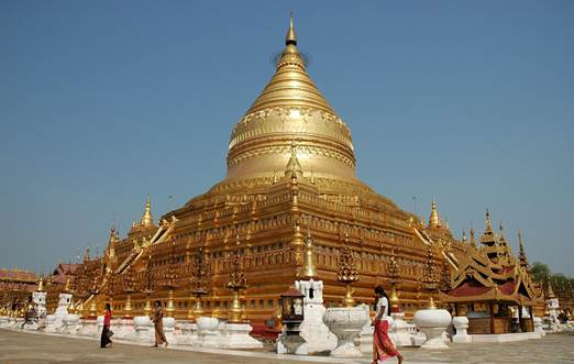Description: the Shwedagon Pagoda