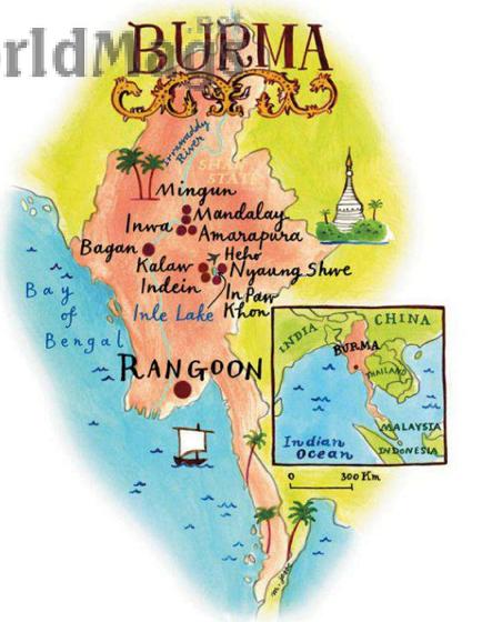 Description: Burma beyond the pagodas