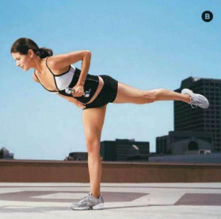 Description: Single row with leg balance