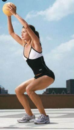 Description: Squat, Jump Combo