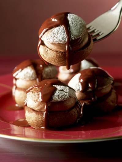 Description: Serve with warm chocolate sauce