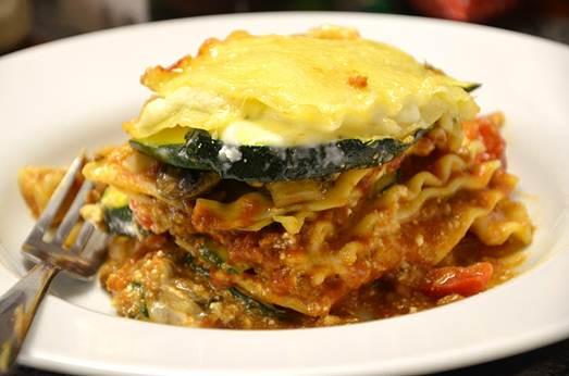Description: Loaded Vegie Lasagna