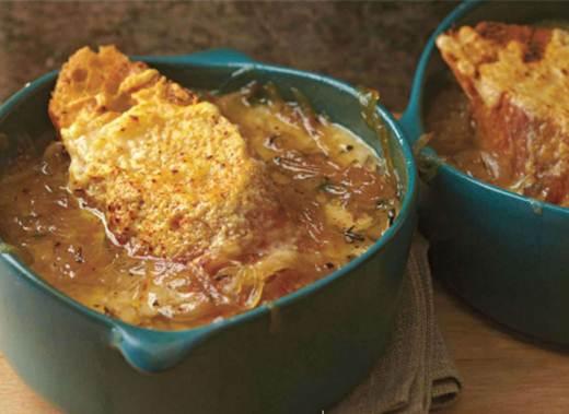 Description: French Onion Soup Gratin
