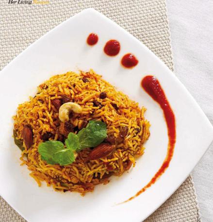 Description: Aromatic Tomato Pilaf Rice