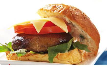 Description: Spicy Tuna Burgers with Lemon Mayonnaise
