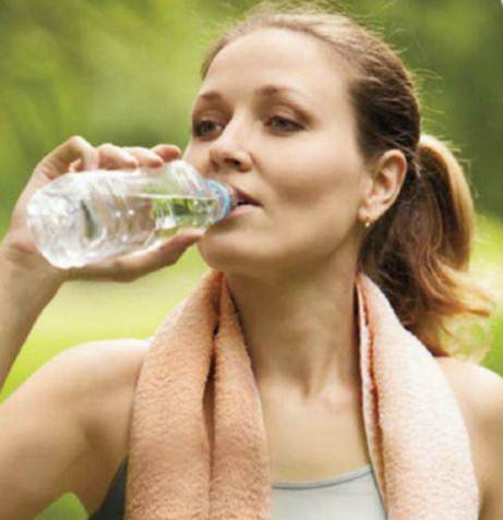 Description: Sip icy water as you work out – it can also keep you going