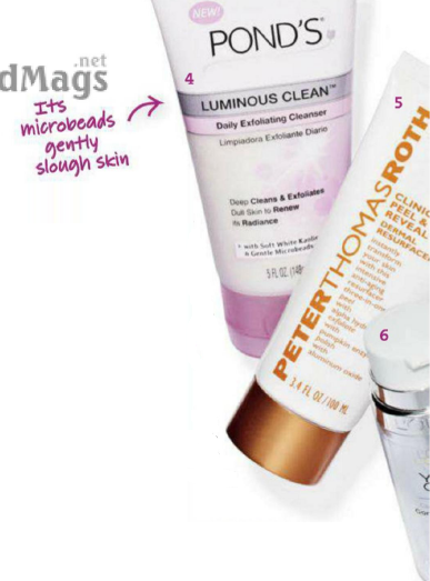 Description: Its microbeads gently slough skin