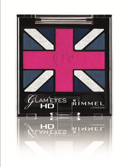 Description: Rimmel Kate Moss Union Jack Eyeshadow, $16
