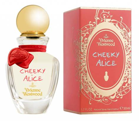 Description: Vivienne Westwood's Cheeky Alice EDT, $95
