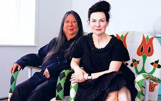 Description: John Rocha and His wife Odette