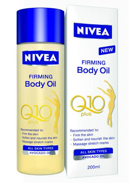 Description: Nivea Q10 Plus Firming Body Oil