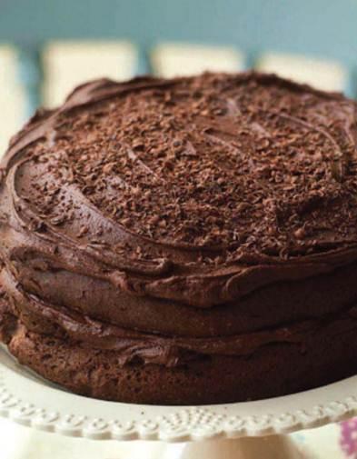 Description: Squidgy chocolate cake