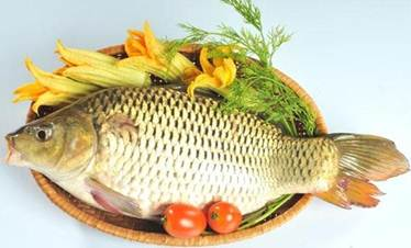 Description: Rice soup with carp
