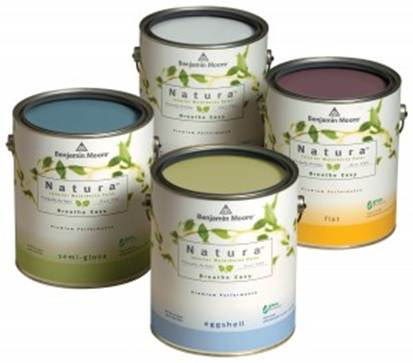 Description: Green solution - Benjamin moore natura paint