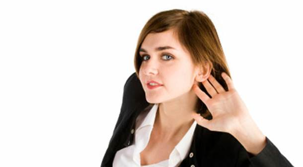 Description: Listening is wanting to hear