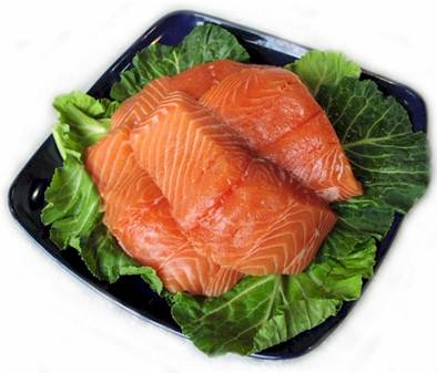 Description: Salmon is very good for women after childbirth.