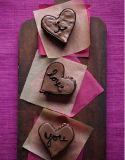 Description: Description: Hazelnut hearts
