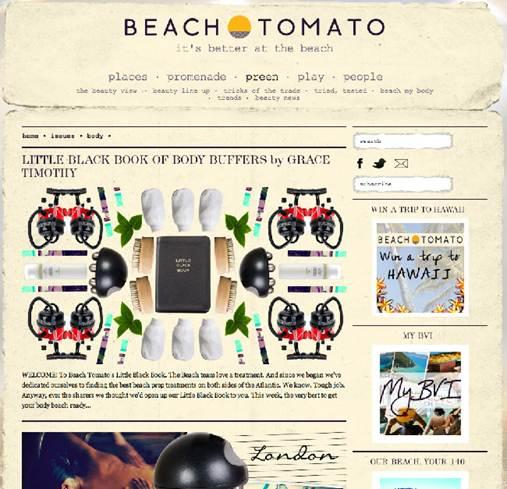 Description: Website: beachtomato.com