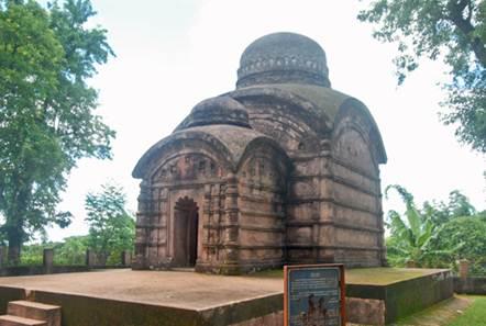 Description: the Bhuvaneshwari temple