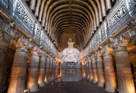 Description: an ancient Chaitya Griha
