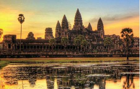 Description: The temples of Angkor Wat