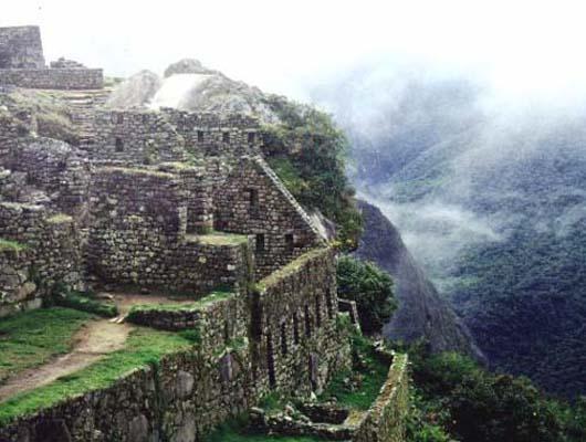 Description: A Shaman In The Peruvian Jungle